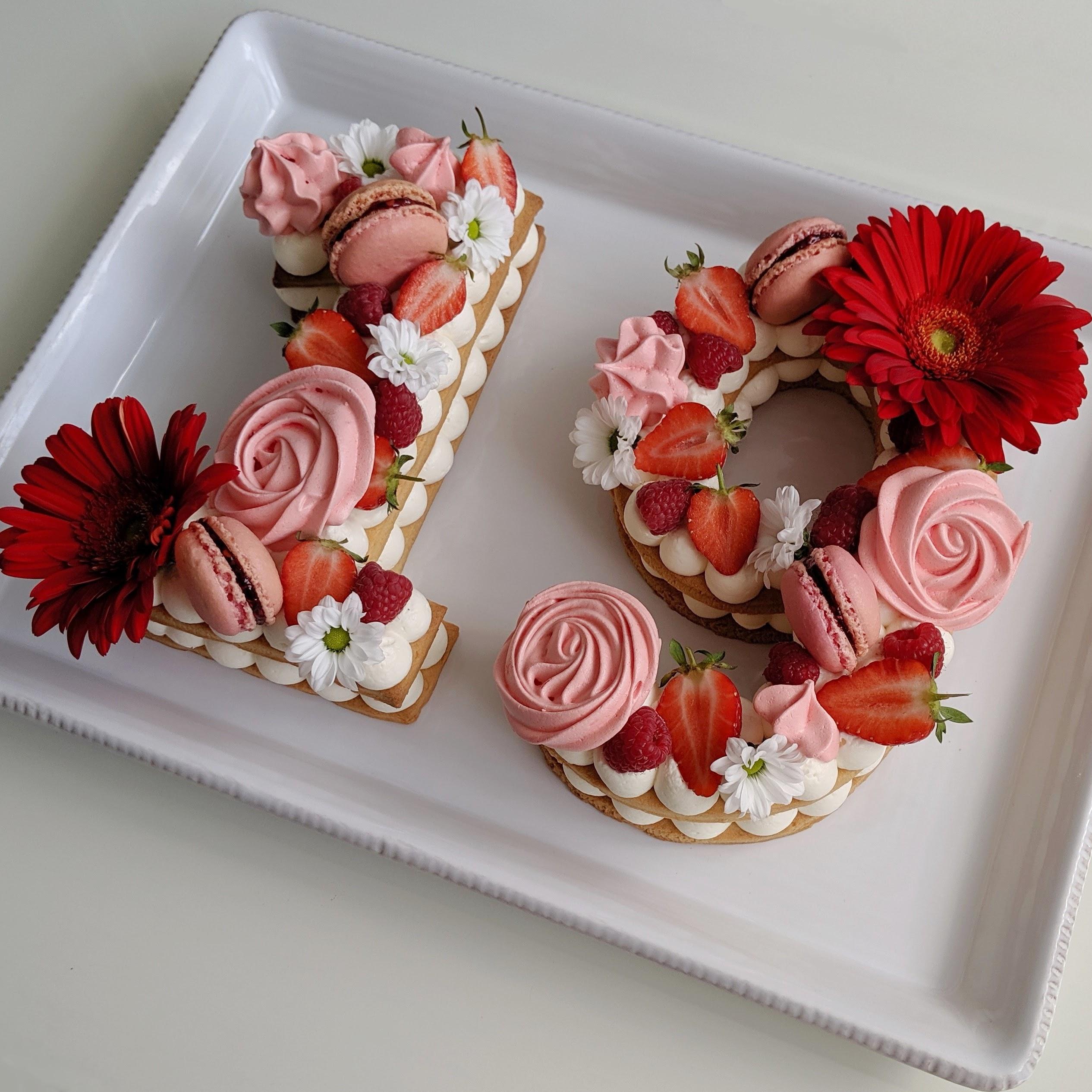 number cake 19